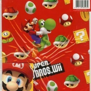 Super Mario Bros. Wii wrapping paper