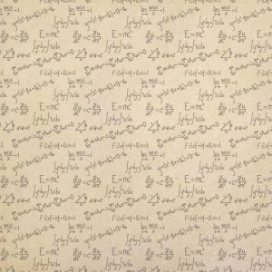 Math Calculus Equations Wrapping Paper