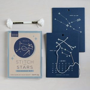 Stitch the Stars constellations calendar