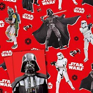 Star Wars Darth Vader Gift Wrap Set (paper + tags)
