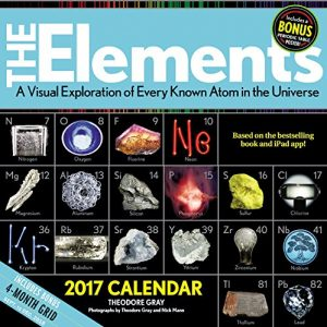 The Elements chemistry calendar