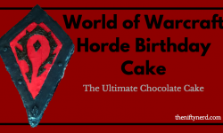 World of Warcraft Horde Birthday Cake