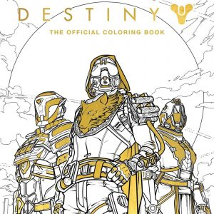 Destiny officialy coloring book