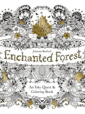 Enchanted Forest- An Inky Quest & Coloring Book