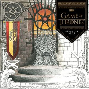 HBO Game of Thrones coloring book