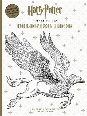 Harry Potter (Removable) Poster Coloring Book
