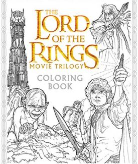 Lord of the Ring movie trilogy coloring book