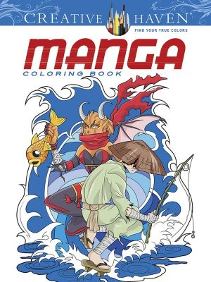 Manga Coloring Book