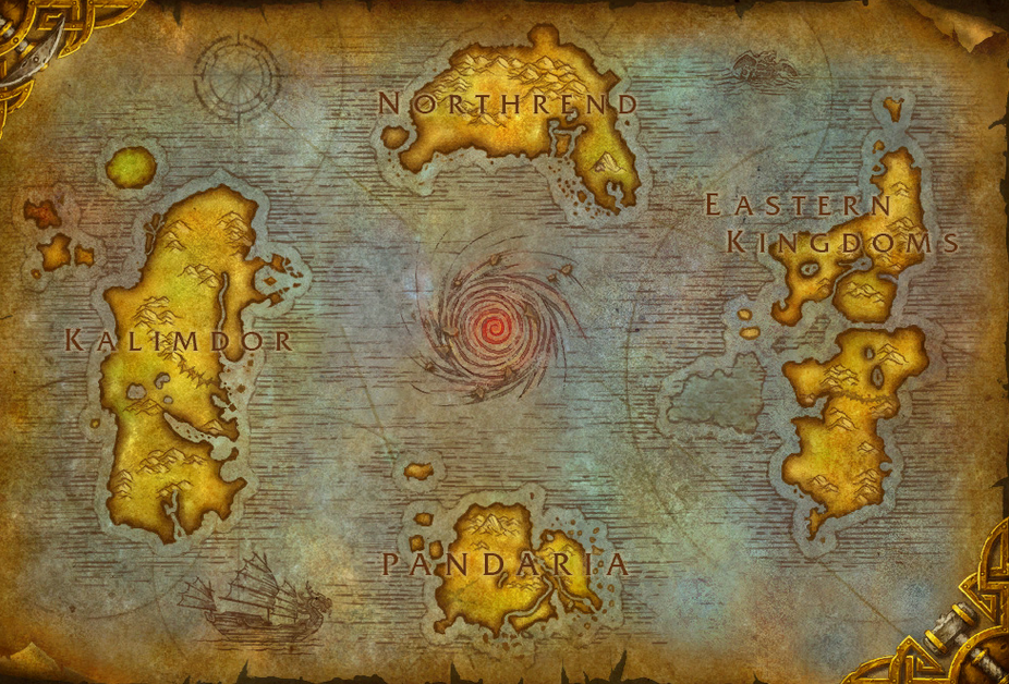 Map of Azeroth