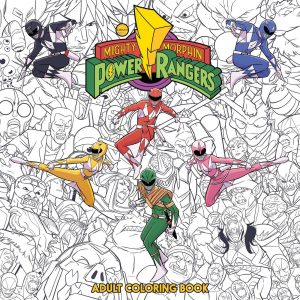 Mighty Morphin Power Rangers coloring book