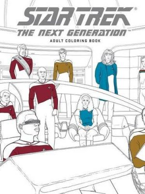 Star Trek- The Next Generation Coloring Book