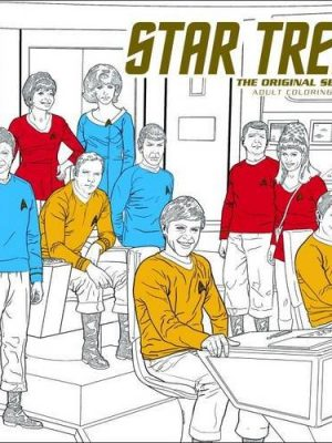 Star Trek- The Original Series Adult Coloring Book