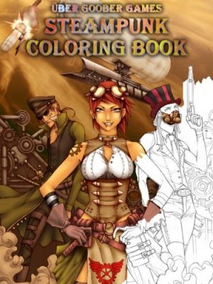 Steampunk Coloring Book