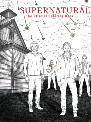 Supernatural coloring book