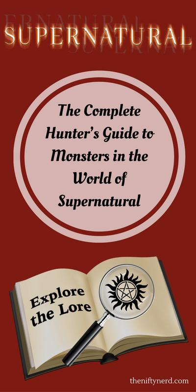 Supernatural monster guide