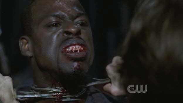 Decapitating a vampire in Supernatural