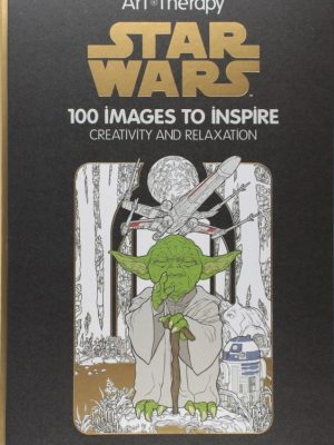 The Art of Coloring Star Wars- Adult Coloring Book