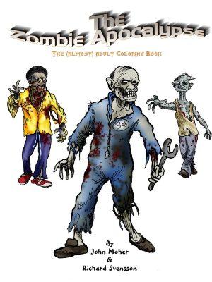 Zombie Apocalypse Coloring Book