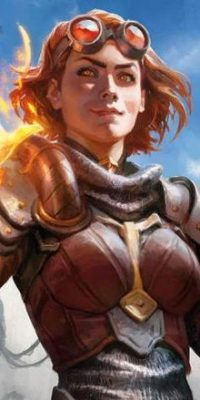 Chandra Nalaar -Planeswalker (Magic the Gathering)