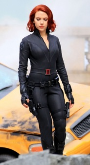 Natasha Romanoff -Black Widow (The Avengers -Marvel)