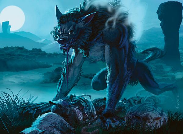Innistrad werewolf