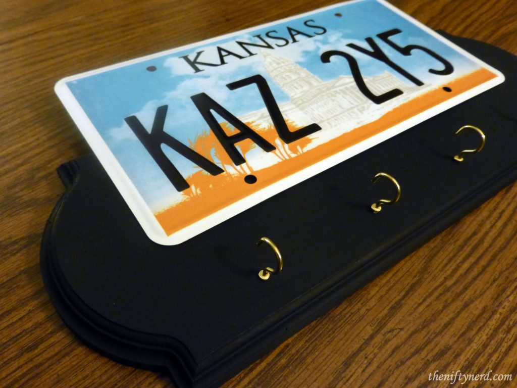 Supernatural Chevy Impala Kansas KAZ2Y5 PlateKey Holder