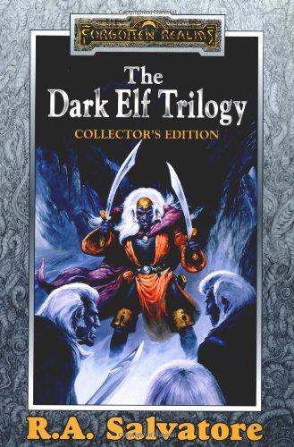 dark elf trilogy by R.A. Salvatore