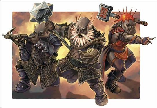 Duergar (aka Gray Dwarves)