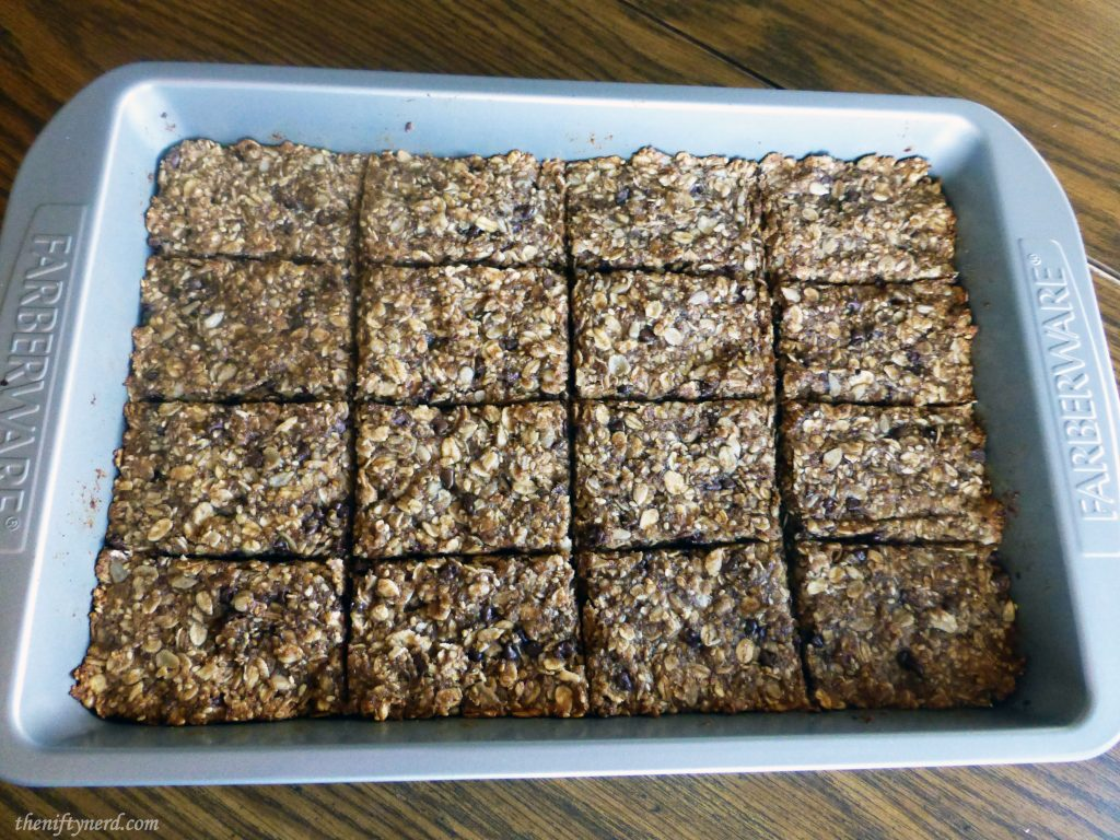 Homemade Granola Bars Inspired by the Flash