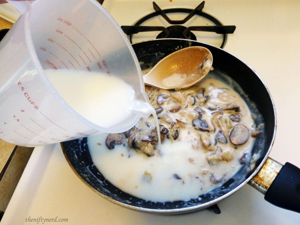 cooking cream stew roux