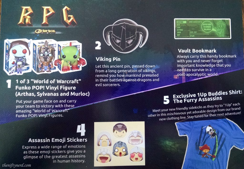 1Up Box RPG