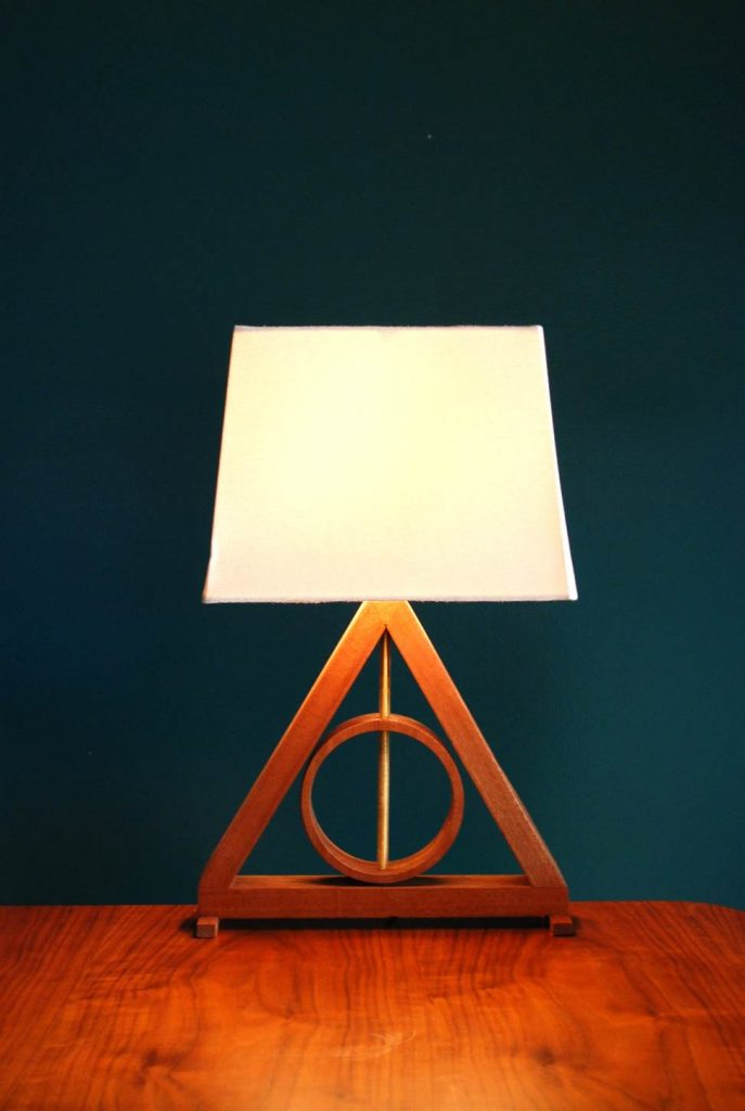 Deathly Hallows desk lamp