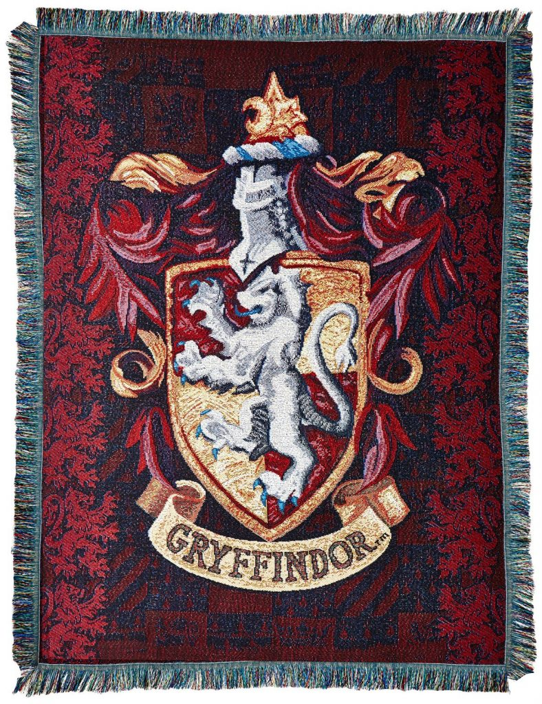 Gryffindor's Crest Tapestry Throw