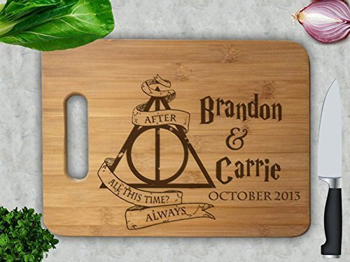 "Harry Potter ""After all this time?"" custom cutting board"