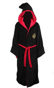 Hogwarts fleece bathrobe