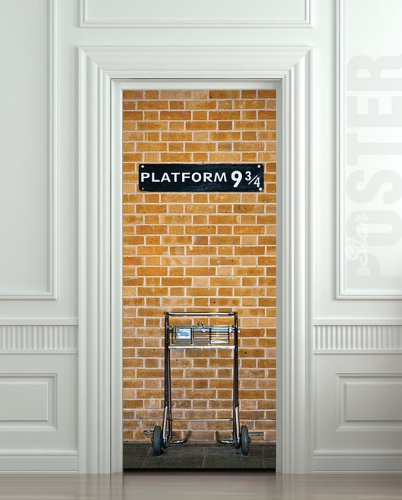 Platform 9 3/4 Door Sticker Decal