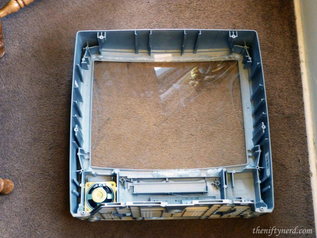 Plexiglass TV screen