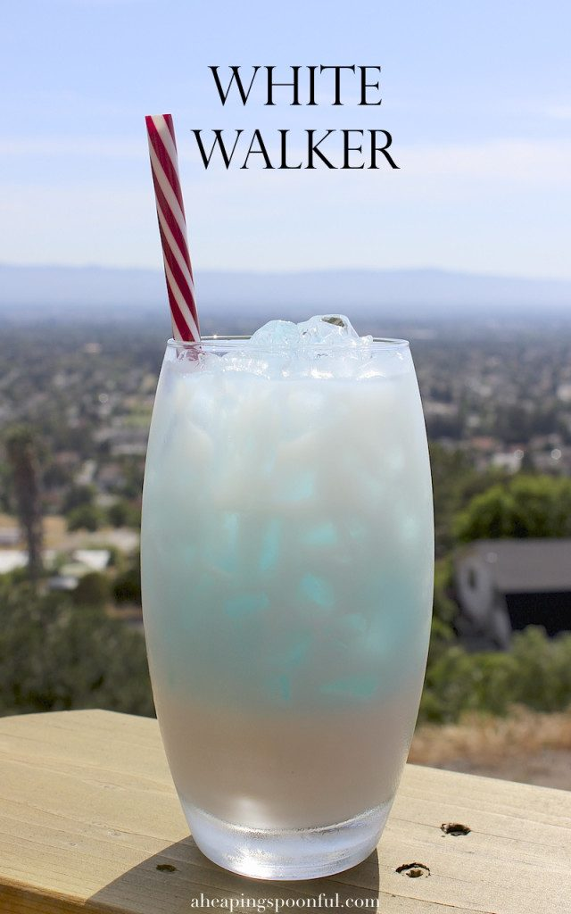 White Walker Game of Thrones drink