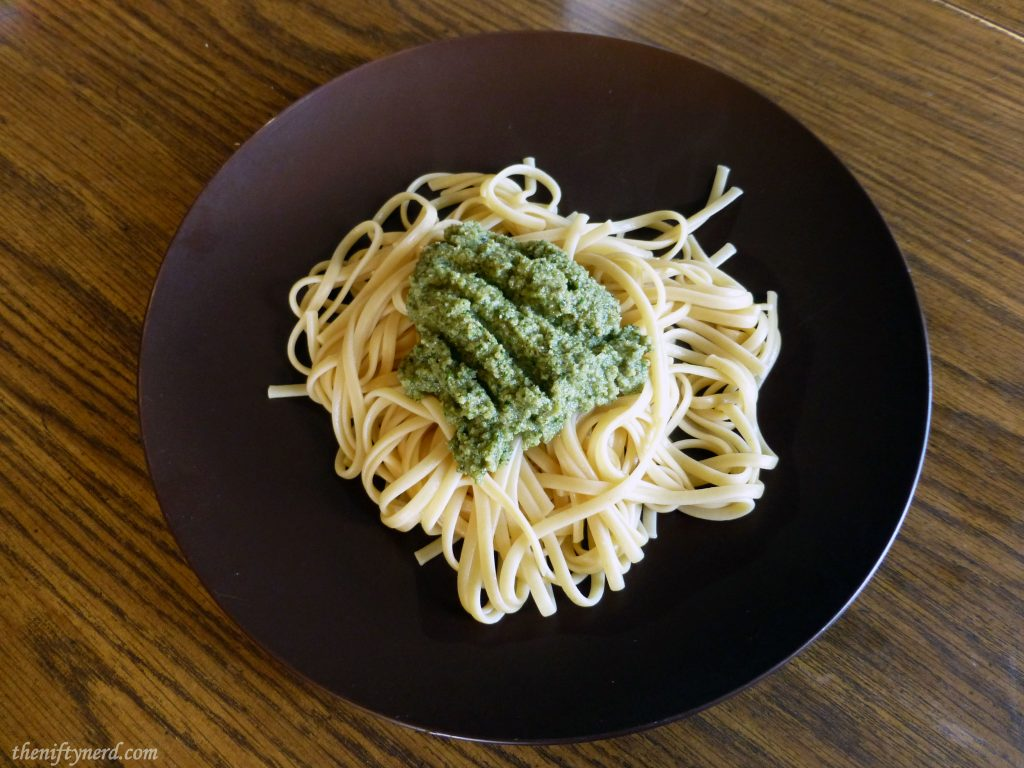 Homemade Koopasta Pesto Recipe