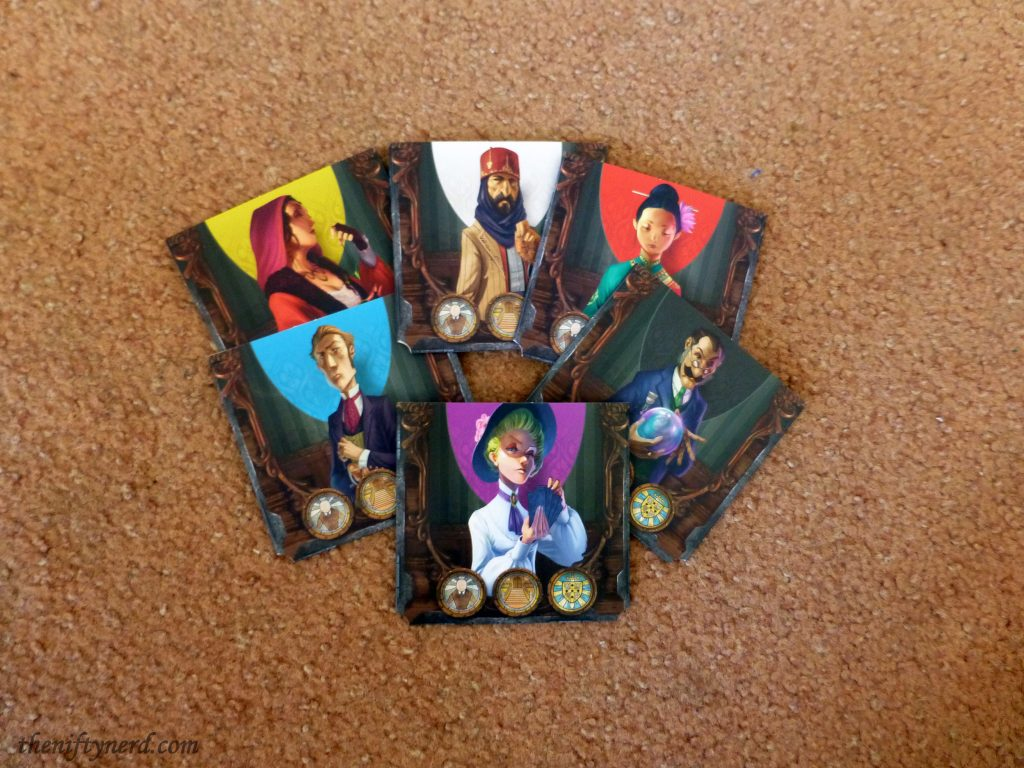 Mysterium player card sleeves
