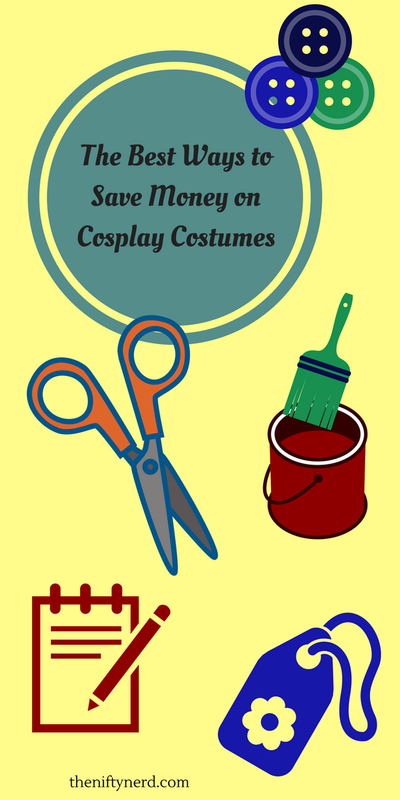 how to make cosplay on a budget