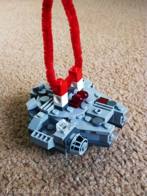 Lego Millenium Falcon ornament