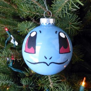 squirtle pokemon Christmas tree ornament