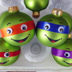 Teenage Mutant Ninja Turtles tree ornaments