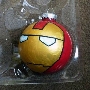 Ironman Ornament