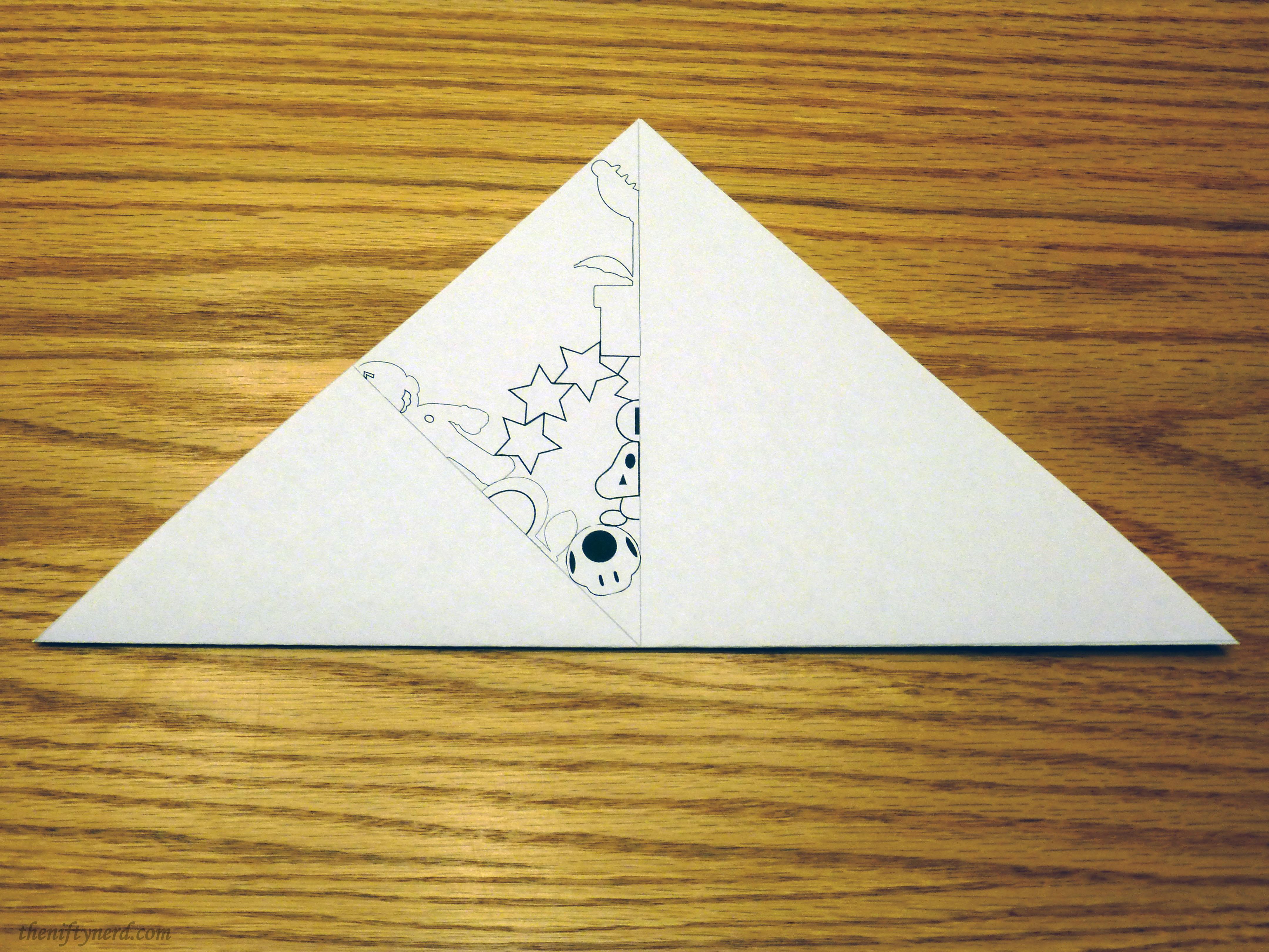 super mario snowflake pattern