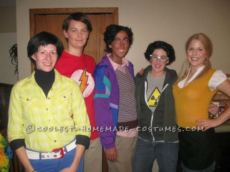 Big Bang Theory group costume