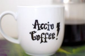 Accio Coffee Harry Potter coffee mug