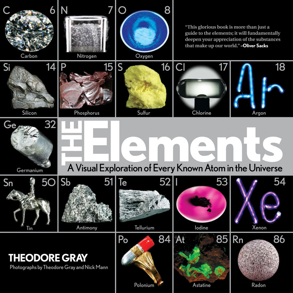 The Elements book by Theordore Gray
