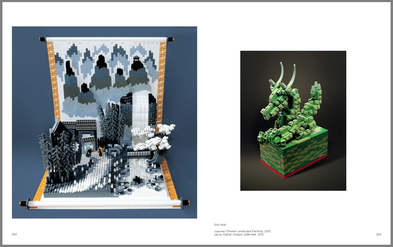 Lego coffee table book